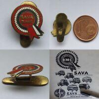 SAVA BMC Engine buttonhole badge Reversknopf knopfloch tractor truck lorry