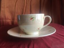 WHITTARD OF CHELSEA Fine China Lustre Finish Large Cappuccino Cup & Saucer