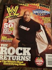 WWE Magazine April/May 2011 The Rock Returns Cover Issue