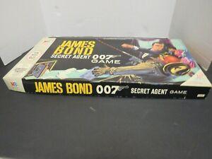 1964 Milton James Bond Secret Agent 007 Board Game in Original Box
