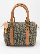 CHRISTIAN DIOR Green Monogram Canvas DIORISSIMO Top-Handle Handbag Bag Satchel