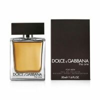 DOLCE & GABBANA THE ONE 50ML EDT MEN NEW IN BOX.