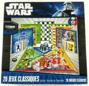 Jeu de plateaux Star Wars 20 Jeux classiques Complet  Envoi rapide et suivi