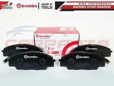 FOR HONDA CIVIC TYPE R EP3 S2000 2.0 2.2 BREMBO FRONT BRAKE PAD PADS SET 99-09
