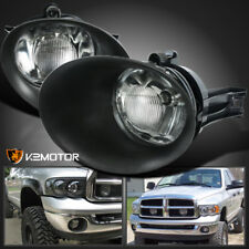 2002-2008 Dodge Ram 1500/2500/3500 Pickup Clear Bumper Driving Fog Lights+Bulbs