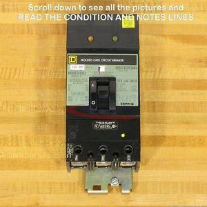 Square D KA361501021 Circuit Breaker, 150 Amp, I-Line, Shunt Trip, Used