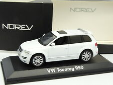 Norev 1/43 - VW Touareg R50 Blanco