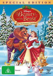 Beauty & The Beast, Enchanted Christmas | DVD Region 4 (PAL) Australia Free Post