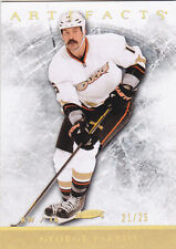 12-13 Artifacts George Parros /25 Gold Spectrum 2012