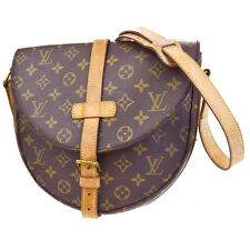 Authentic Louis Vuitton Chantilly GM Shoulder Bag Monogram Leather M40647 01B976