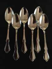 SET of 6 TEASPOONS  stainless Spoons  CHATEAU EXCELLENT!
