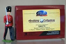 BRITAINS 50017C BRITISH FUSILIERS OFFICER ARCHIVE COLLECTION MINT BOXED my