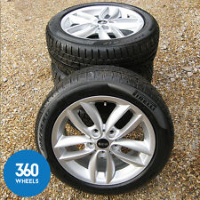 "NEW GENUINE MINI COUNTRYMAN 17"" 124 ALLOY WHEELS WINTER TYRES R60 PACEMAN R61"