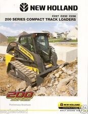 Equipment Brochure - New Holland - 200 Series Compact Track Loader 2010 (E1117)