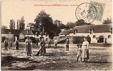 Ecole d'Agriculture du CHESNOY (45) - La Ferme