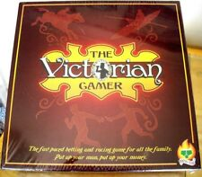 THE VICTORIAN GAMER BOARD GAME - FAMILY BETTING RACING GAME - NEW & SEALED