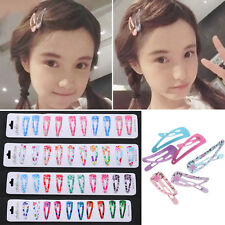 Lot Baby Kid Girl Princess Hair Accessories Slides Snap Hair Clips Slid