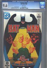 Batman #354 CGC 9.6 (1982) White Pages Rupert Thorne & Hugo Strange