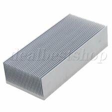Silver Aluminium Cooling Fin Radiator Cooler Heat Sinks 150x69x36mm