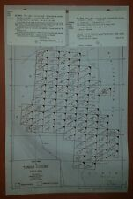 1940's Army Maps Tunisia  GSGS 4226 1:100,000 88 Sheets ww 2 vintage military