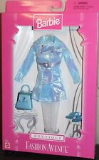 Barbie Fashion Avenue Boutique No. 18126 NRFB Metallic Belted Dress New RARE