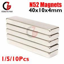 Lot 510x Big Strong Block Bar Fridge Magnets 40x10x4mm Rare Earth Neodymium N52