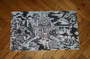 Custom Star Wars Playmat TCG For Yugioh, Pokemon, Magic & Custom Case For It!