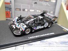LAMBORGHINI Countach QVX Group c 1986 #22 Racing V12 Suprem Leo Altaya  IXO 1:43