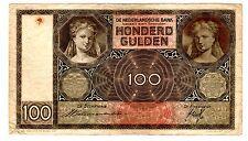 PAYS BAS Netherlands Billet 100 GULDEN 01/06/ 1935 P51 DATE RARE BB BON ETAT