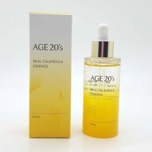 AGE 20'S REAL CALENDULA ESSENCE 50ML / Whitening Anti-Wrinkle Korea Cosmetics