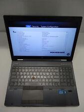 HP EliteBook 8560w XU082UT#ABA 2.60GHz i5-2540M 8GB RAM 500GB HDD FirePro NO OS