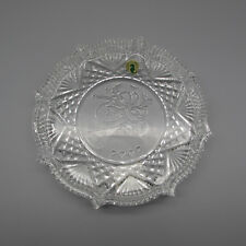 Waterford Crystal SONGS OF CHRISTMAS 2002 Annual Plate