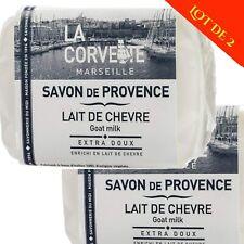 Savon de Provence Lait de Chèvre 100g - Lot de 2 savons - La Corvette