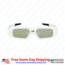 Active Shutter 3D Glasses Acer/BenQ/Sony/Optoma/Dell DLP Link Projector(Wht)