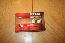 TDK Superior Grade MP 8mm Blank Video Cassette (120 Minutes)