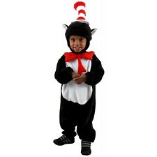Infant Cat in the Hat Costume Jumpsuit 12-18 Months Halloween Cute Dr. Seuss