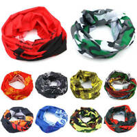 Face Warmer Mask Neck Tube Scarf BIKE Ski Snood Balaclava Bandana Multicoloured