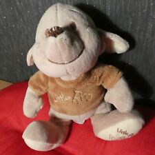 DISNEY LITTLE ROO SOFT BABIES TOY PLAYS LULLABY PULL CORD