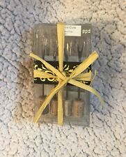 Set Of 8 Wine Cork Cocktail Picks Hor d'oeuvres forks New in Box