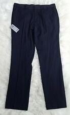 NWT TopMan Navy Blue Skinny Fit Trouser Mens Size 36R