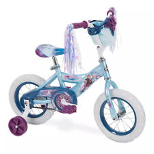 """Huffy Disney's Frozen 2 Kids 12"""" Bike Bicycle with Training Wheels, Ages 3 to 5"""