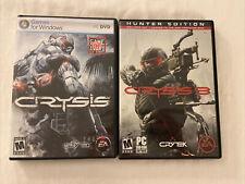 Crysis & Crysis 3 Hunter Edition 2 Disc (PC, DVD)