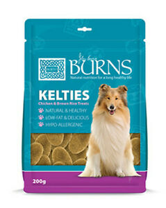 Burns Kelties 200g Natural Wholesome Biscuit Treat 4 Dogs