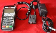 Ingenico ICT220 Terminal Credit Card Reader Chip Reader Dual Comm & Power Supply