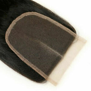 10*14CM Straight Unprocessed Virgin Hair Lace Top Closure For Making Wig Cap