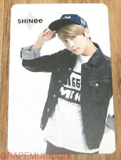 SHINEE SMTOWN COEX Artium SUM OFFICIAL GOODS JONGHYUN LIMITED EDITION PHOTO CARD