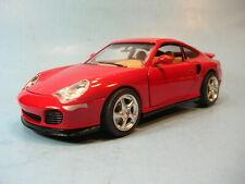 BURAGO 1/18 Scale 1999 PORSCHE 996 TURBO in RED