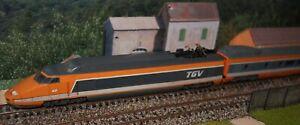 TGV Sud-Est Jouef 5 éléments réf 8631 & 5470 à 5473 échelle HO en DIGITAL Boites