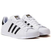 Adidas Originals Superstar ADV Vulc Sneaker Schuhe Turnschuhe Trainers Weiß NEU