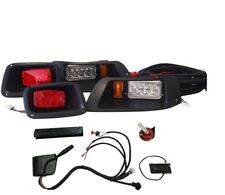 Premium EZGO TXT Golf Cart Street Legal LED Light Kit With Turn & Brake Lights